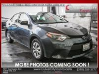 Options:  2016 Toyota Corolla L|Gray|Carfax One Owner.