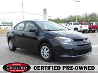 Options:  Certified Vehicle Warranty Front Wheel
