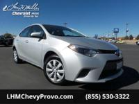 Come see this reliable 2016 Toyota Corolla . Urethane