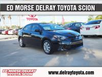 This 2016 Toyota Corolla LE is proudly offered by Ed