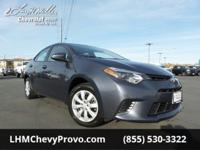 We're excited to offer this capable 2016 Toyota Corolla