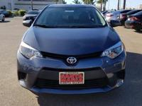 Options:  2016 Toyota Corolla L|Gray|Carfax One-Owner.