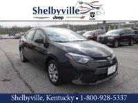 CARFAX One-Owner. 2016 Toyota Corolla L FWD 6-Speed