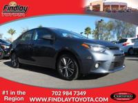 Toyota Certified, CARFAX 1-Owner, ONLY 25,649 Miles! LE
