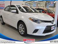 Recent Arrival! Clean CARFAX. 2016 Toyota Corolla L FWD