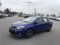 Blue Crush Metallic 2016 Toyota Corolla S Plus FWD CVT