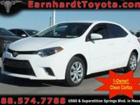 We are happy to offer you this *1-OWNER 2016 TOYOTA