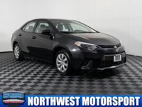 One Owner Sedan with Backup Camera!  Options:  Rear