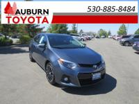 1 OWNER, BLUETOOTH!!  This 2016 Toyota Corolla S Plus
