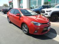 Back-up Camera, Bluetooth, This 2016 Toyota Corolla LE,
