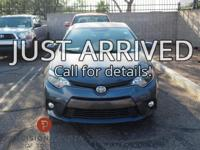 Certified. **One Owner**, -Clean Carfax-, Corolla LE