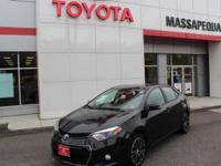 Black 2016 Toyota Corolla S Special Edition FWD 4-Speed