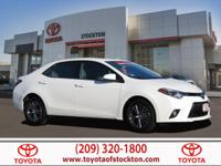 Options:  2016 Toyota Corolla Sedan Le Plus|Super