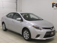 This 2016 Toyota Corolla L is proudly offered by FOX