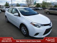 Options:  2016 Toyota Corolla L|L 4Dr Sedan 4A|Super