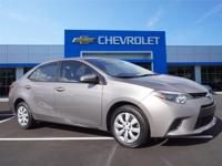 Options:  2016 Toyota Corolla L|Miles: 34707Color: