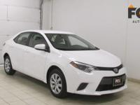This outstanding example of a 2016 Toyota Corolla L is