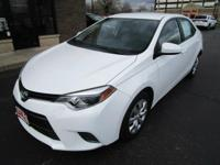 One Owner. 2016 TOYOTA COROLLA LE, 1-OWNER ONLY 12,000