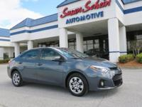 This 2016 Toyota Corolla  has a 1.8 liter 4 Cylinder