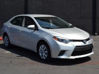 This 2016 Toyota Corolla LE CVT features a 1.8L 4
