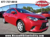 Come see this 2016 Toyota Corolla LE. Its Variable