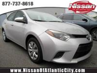 Check out this 2016 Toyota Corolla LE. Its Variable