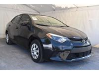 This 2016 Toyota Corolla 4dr 4dr Sedan CVT LE features