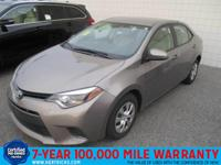 You can find this 2016 Toyota Corolla 4dr Sdn CVT LE