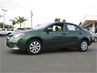 Options:  2016 Toyota Corolla Le|This Vehicle Has A