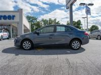Look no further this 2016 Toyota Corolla LE (CVT) 4dr