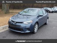 LE trim. CARFAX 1-Owner, LOW MILES - 11,556! Bluetooth,