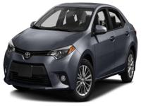 Options:  2016 Toyota Corolla Le|This 2016 Toyota