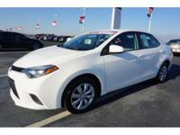 Classy White! You win! Toyota Certified means a 160