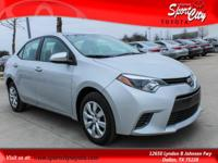 New Price! Clean Vehicle History Report, Corolla LE,
