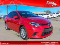 Carfax One Owner, Bought here/Serviced here, Corolla