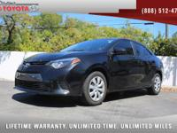 2016 Toyota Corolla LE, *** 1 FLORIDA OWNER *** CLEAN