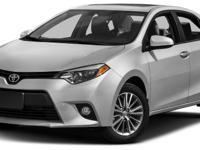 Options:  2016 Toyota Corolla Le|Miles: 35841Color: