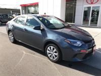 Options:  2016 Toyota Corolla Le|Confused About Which