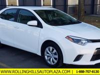 ***One Owner***, **CERTIFIED PRE-OWNED**, Corolla LE,