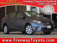 CARFAX One-Owner. Clean CARFAX. 2016 Toyota Corolla LE