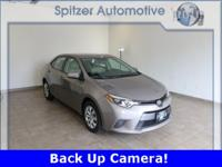 Toyota Corolla LE Plus Clean CARFAX. Clean Carfax, Back