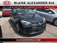 2016 Toyota Corolla LE Plus 1.8L I4 DOHC ONE OWNER, LOW