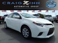 PREMIUM & KEY FEATURES ON THIS 2016 Toyota Corolla