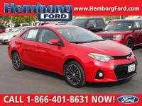 CARFAX One-Owner. Clean CARFAX. Dark Red 2016 Toyota