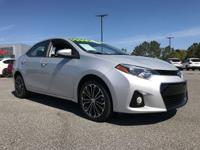 Scores 37 Highway MPG and 29 City MPG! This Toyota