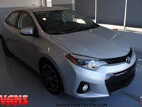 Certified. SILVER 2016 Toyota Corolla LE FWD CVT 1.8L