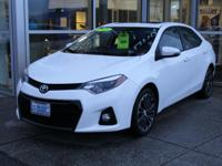 Super White 2016 Toyota Corolla S Plus FWD 4-Speed