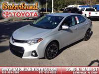 2016 Toyota Corolla S Plus They say All roads lead to