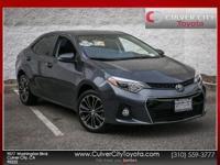 Options:  2016 Toyota Corolla S Plus Slate
