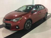 This 2016 Toyota Corolla S Premium CVT is in excellent